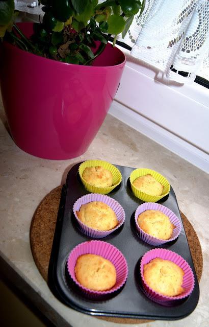 Ciasto baza na puszyste muffinki