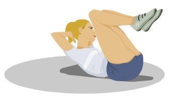 siłownia, odchudzanie, fitness, ćwiczenia na brzuch, ćwiczenia