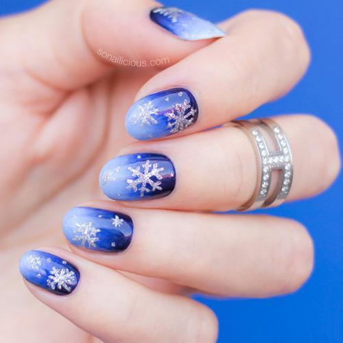 paznokcie, paznokcie wzory, paznokcie w paski, paznokcie ombre