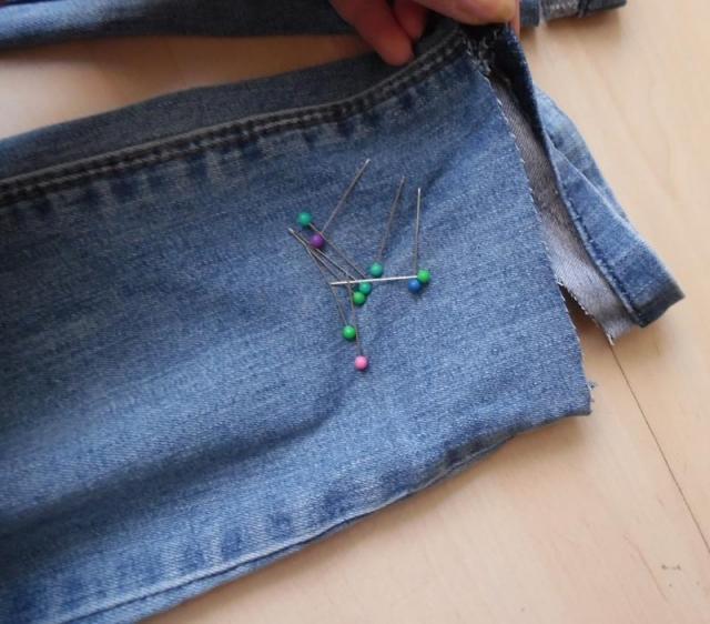Jak skrócić spodnie z zachowaniem oryginalnego szwu?