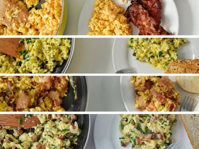 4 pomysły na pyszną jajecznicę