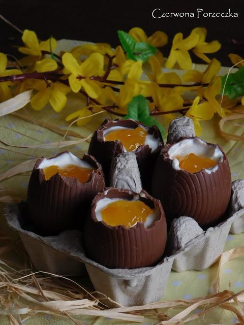 Pomysł na czekoladowe jajka niespodzianki