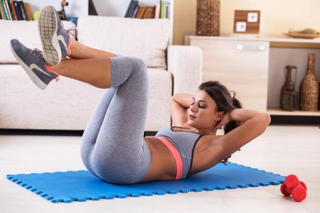 ćwiczenia, fitness, odżywianie, dieta, ćwiczenia na brzuch