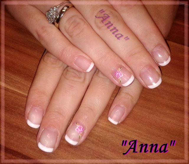 paznokcie na ślub, manicure, paznokcie francuskie, nails, hybryda, paznokcie, ekspert