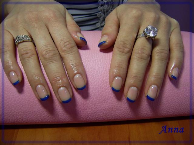hybryda, paznokcie, ekspert, paznokcie na ślub, manicure, paznokcie francuskie, nails