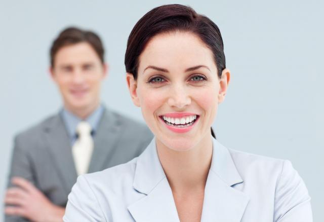 kobieta, praca, biznes