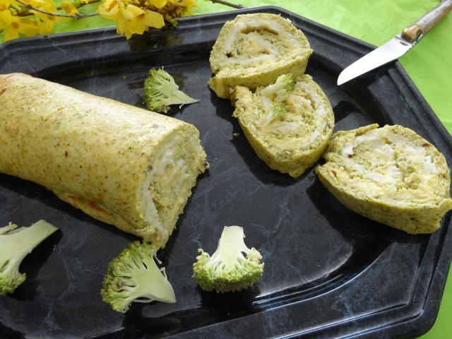 Przepis na roladę brokułową