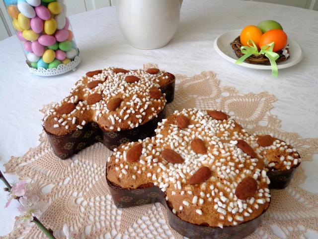 Colomba - tradycyjne włoskie ciasto na Wielkanoc