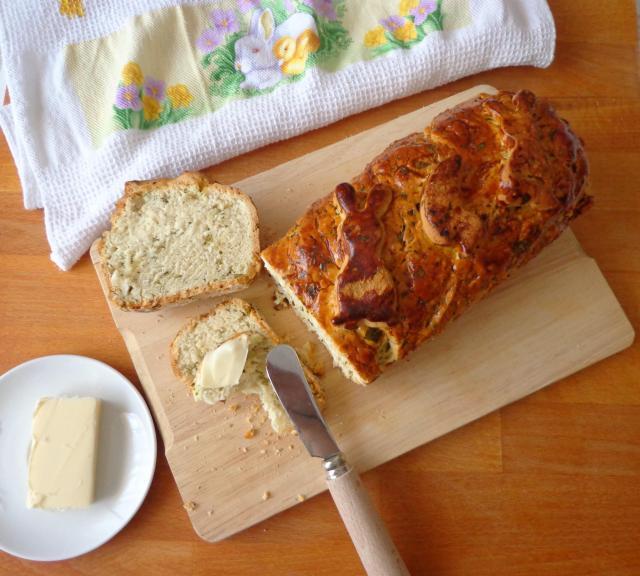 Przepis na wielkanocny chlebek