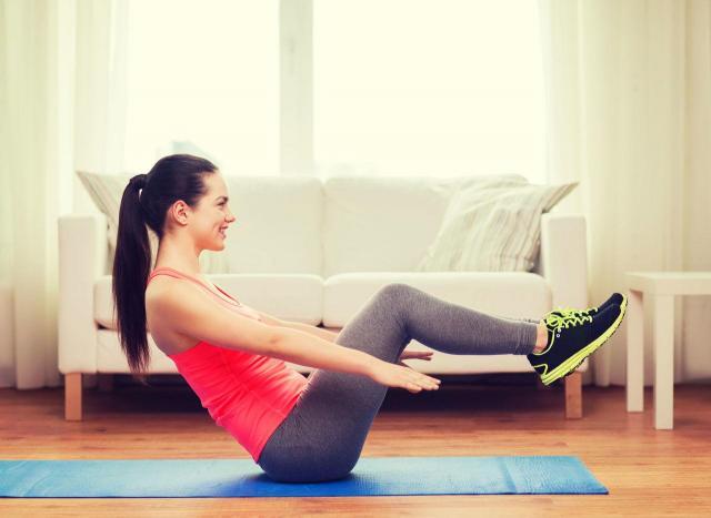 ćwiczenia na brzuch, mięśnie brzucha, płaski brzuch