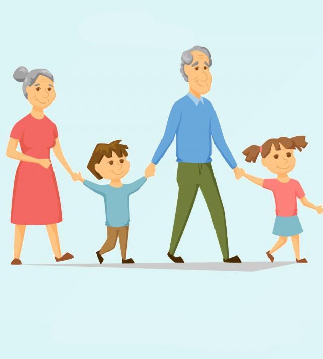 odpoczynek, sport, seniorzy, dziadkowie