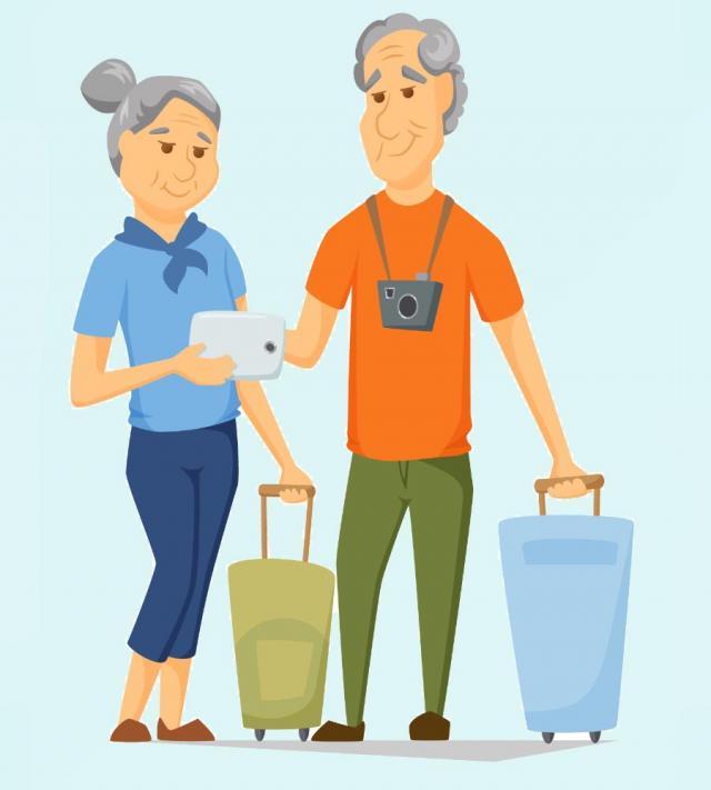 sport, seniorzy, dziadkowie, odpoczynek