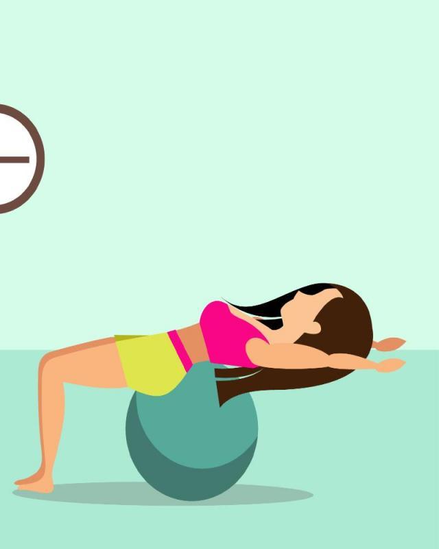 fitness, ćwiczenia w domu, ilustracje, instrukcje, obrazki, ćwiczenia, kobieta