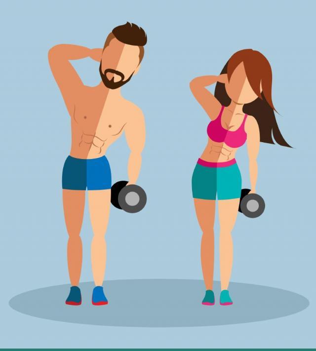 ćwiczenia w domu, fitness, kobieta, ćwiczenia, bieganie