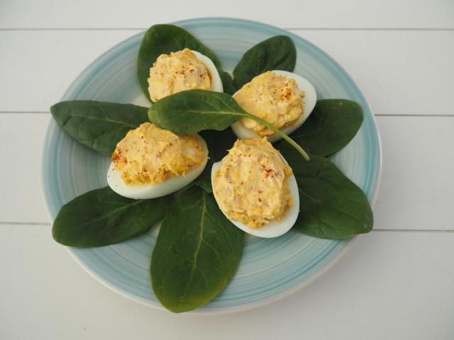 Przepis na jajka mimoza faszerowane tuńczykiem