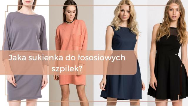 Jaka sukienka do łososiowych szpilek?