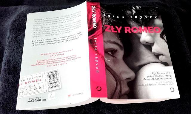 "Recenzja książki Leisa Rayven ""Zły Romeo"""