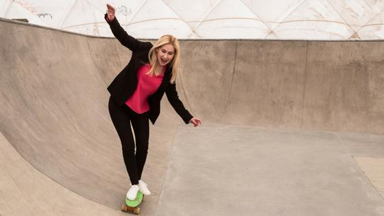 Coaching jak jazda na deskorolce - wywiad z Anetą Michno