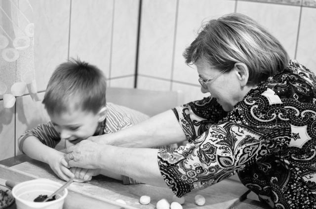 kobieta...matka...babcia - pani Stanisława