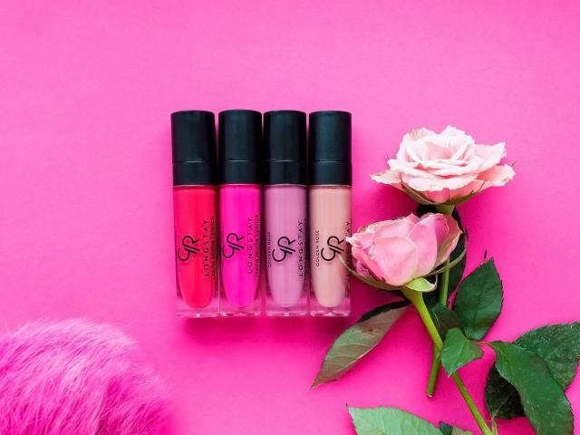 Golden Rose Liquid Matte Lipstick – matowe pomadki 03, 06, 08, 13