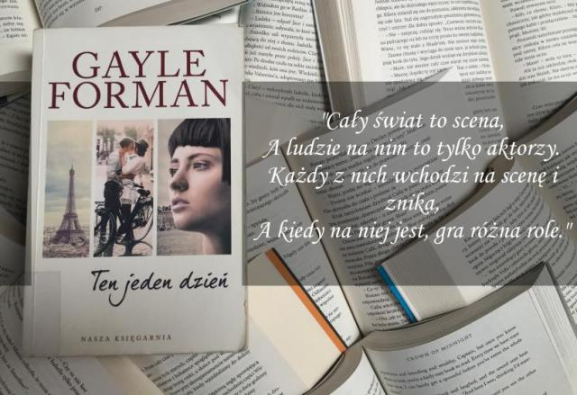 "Recenzja: ""Ten jeden dzień"" Gayle Forman"