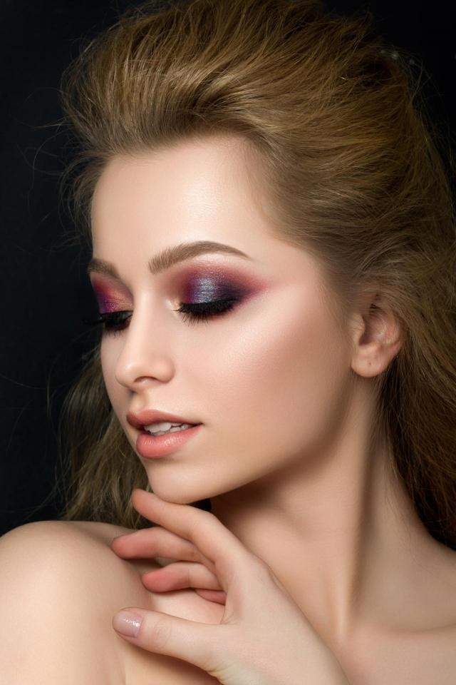 makijaż twarzy, makijaż smoky eyes, makijaż, ślub, inspiracje, makijaż weselny