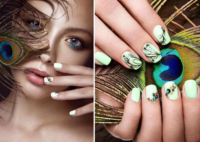 modne kolory paznokci, paznokcie wzory, paznokcie na lato, paznokcie, paznokcie kolory, zdobienie paznokci