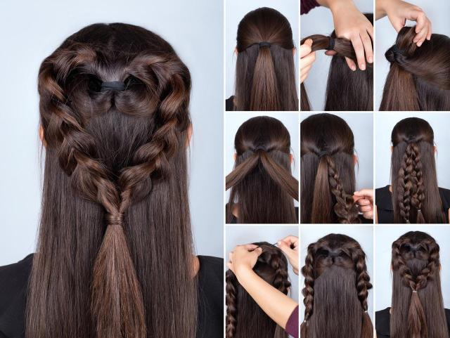 fryzury, instrukcje