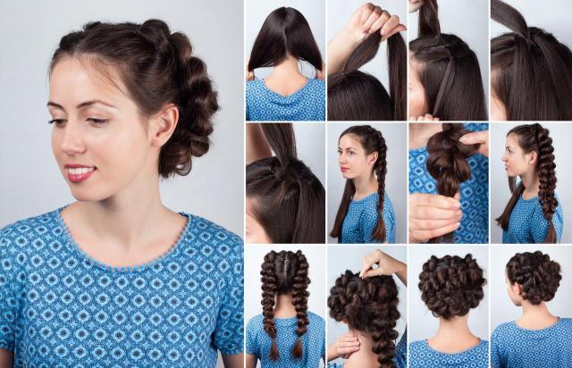 instrukcje, fryzury