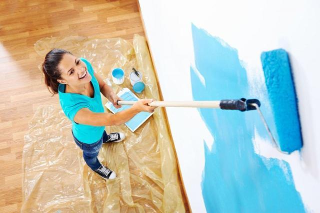 kolor ścian, malowanie