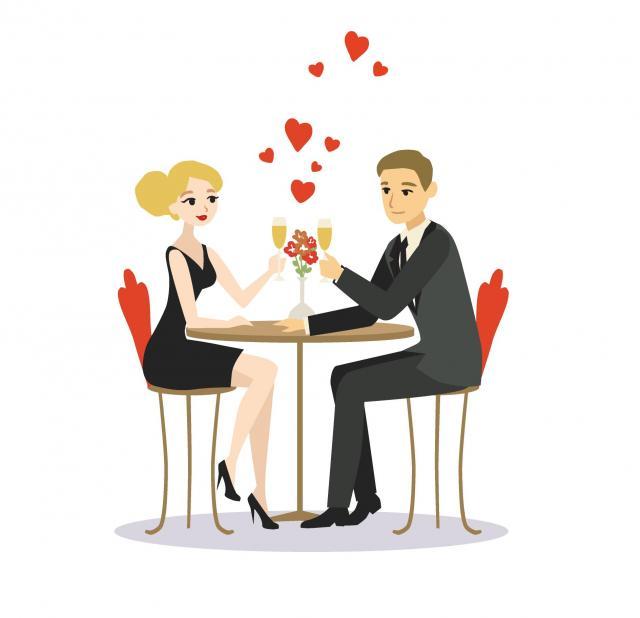 pierwsza randka, miłość, para