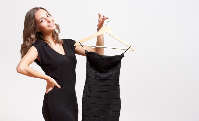garderoba, ubrania, kobieta