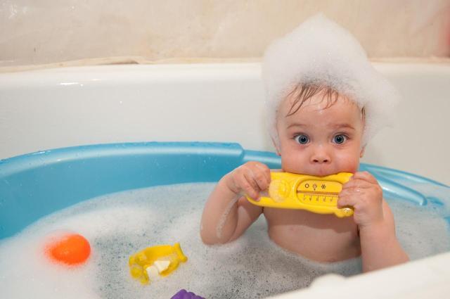 dziecko, kąpiel, wychowanie