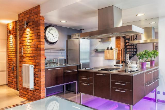 aranżacje kuchni, wnętrza, nowoczesne wnętrze, kuchnia