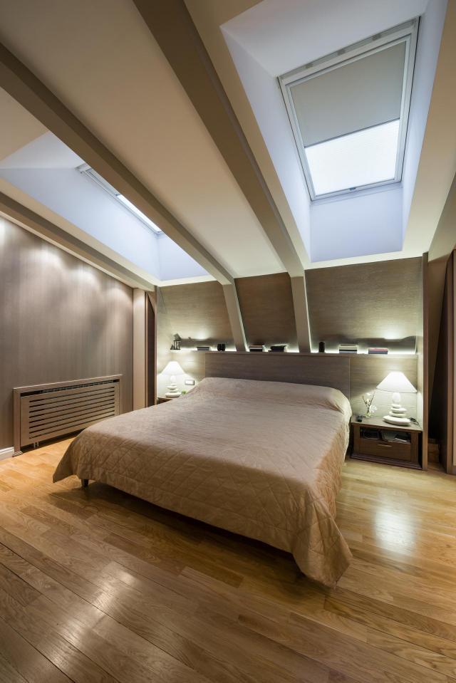 poddasze, sypialnia