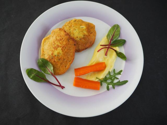 Wegetariańskie placuszki z tofu
