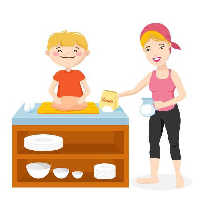 szczęście, wspólne gotowanie, gotowanie, dziecko