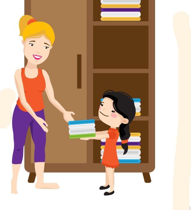 sprzątanie, porządki, dziecko, wychowanie