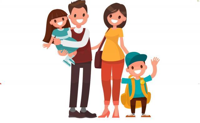 duża rodzina, szczęśliwa rodzina