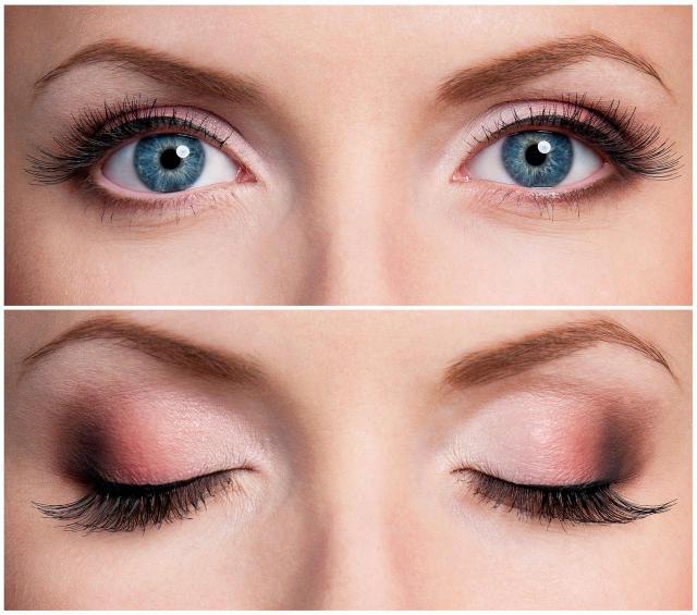 makijaż dla blondynek, makijaż smoky eyes, makijaż wieczorowy, makijaż