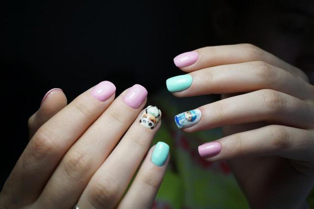 modne paznokcie, paznokcie
