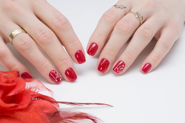 paznokcie, paznokcie wzory