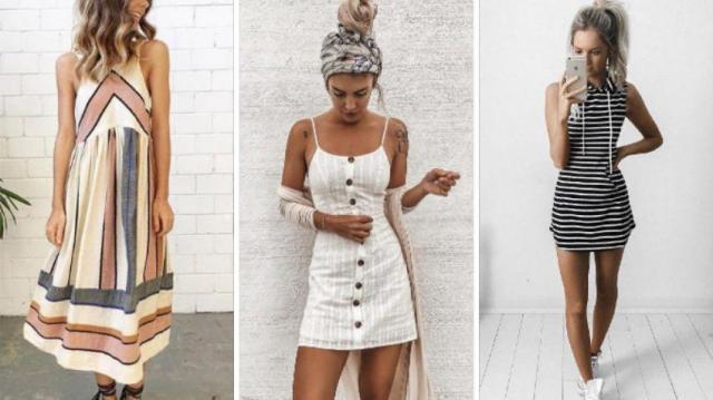Niesamowite sukienki w paski na lato - moda 2020