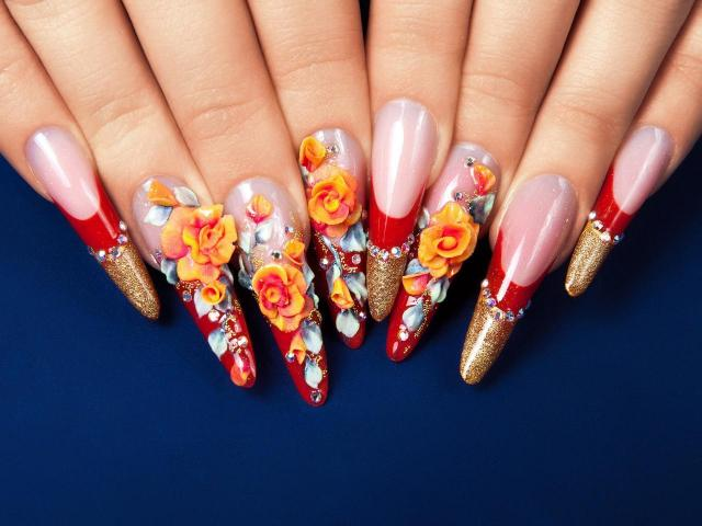 paznokcie, stylizacja paznokci