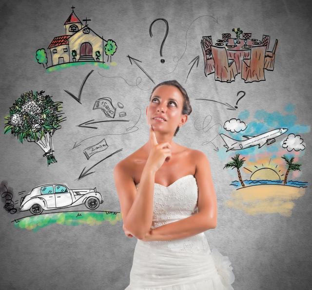Organizacja wesela - lista rzeczy do załatwienia