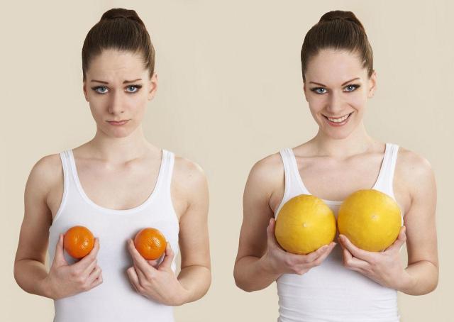 5 naturalnych sposobów na powiększenie biustu
