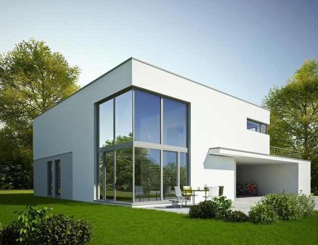 nowoczesne domy, dom