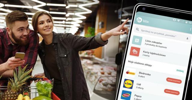 Aplikacja Blix — nowy sposób na sprytne zakupy