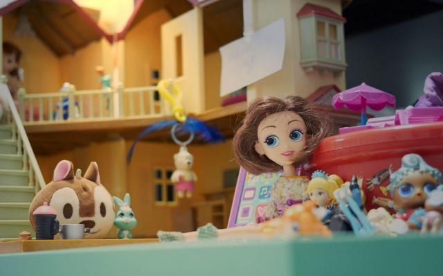 O takim domku dla lalek marzy każda dziewczynka!