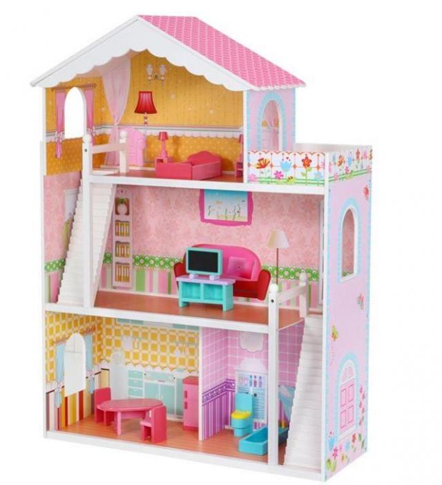 artykuł partnerski, domki dla lalek, zabawki